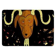 Billy goat 2 Samsung Galaxy Tab 8.9  P7300 Flip Case