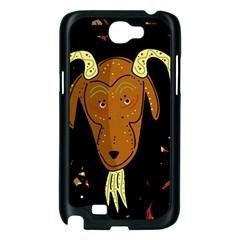Billy goat 2 Samsung Galaxy Note 2 Case (Black)