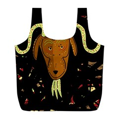 Billy goat 2 Full Print Recycle Bags (L)