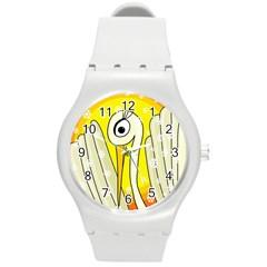 Crane Round Plastic Sport Watch (M)