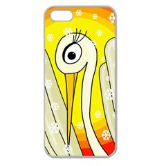 Crane Apple Seamless iPhone 5 Case (Clear)