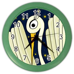 Crane 2 Color Wall Clocks
