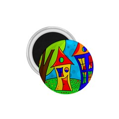 Two houses  1.75  Magnets