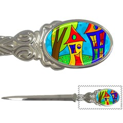 Two houses  Letter Openers