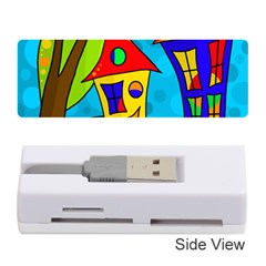 Two houses  Memory Card Reader (Stick)