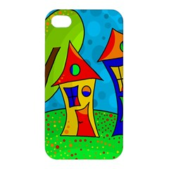 Two houses  Apple iPhone 4/4S Hardshell Case