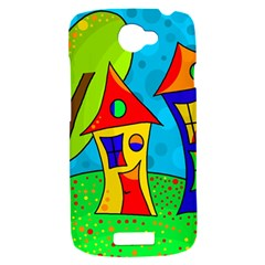 Two houses  HTC One S Hardshell Case