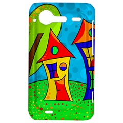 Two houses  HTC Incredible S Hardshell Case