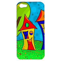 Two houses  Apple iPhone 5 Hardshell Case