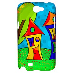Two houses  Samsung Galaxy Note 2 Hardshell Case
