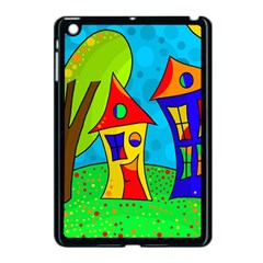 Two houses  Apple iPad Mini Case (Black)