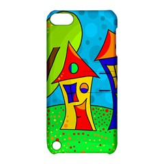 Two houses  Apple iPod Touch 5 Hardshell Case with Stand