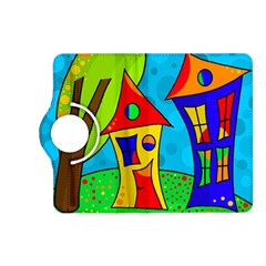 Two houses  Kindle Fire HD (2013) Flip 360 Case
