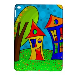 Two houses  iPad Air 2 Hardshell Cases