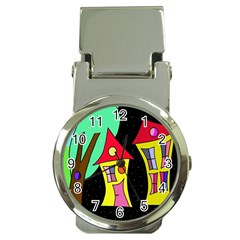 Two houses 2 Money Clip Watches