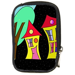 Two houses 2 Compact Camera Cases