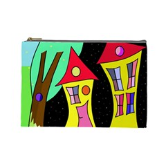 Two houses 2 Cosmetic Bag (Large)