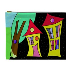 Two houses 2 Cosmetic Bag (XL)
