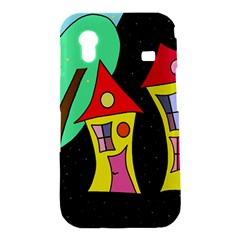Two houses 2 Samsung Galaxy Ace S5830 Hardshell Case