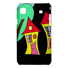Two houses 2 Samsung Galaxy S i9008 Hardshell Case