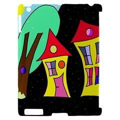 Two houses 2 Apple iPad 2 Hardshell Case (Compatible with Smart Cover)