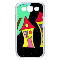 Two houses 2 Samsung Galaxy S III Case (White)