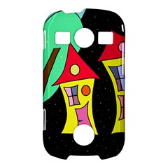 Two houses 2 Samsung Galaxy S7710 Xcover 2 Hardshell Case