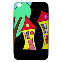 Two houses 2 Samsung Galaxy Tab 3 (8 ) T3100 Hardshell Case