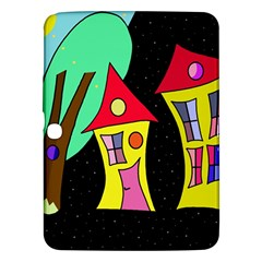Two houses 2 Samsung Galaxy Tab 3 (10.1 ) P5200 Hardshell Case