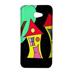 Two houses 2 HTC Butterfly S/HTC 9060 Hardshell Case