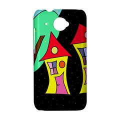 Two houses 2 HTC Desire 601 Hardshell Case