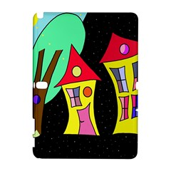 Two houses 2 Samsung Galaxy Note 10.1 (P600) Hardshell Case