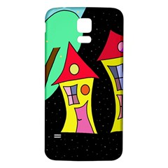 Two houses 2 Samsung Galaxy S5 Back Case (White)
