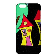Two houses 2 Apple iPhone 6 Plus/6S Plus Hardshell Case
