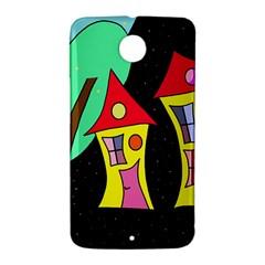Two houses 2 Nexus 6 Case (White)