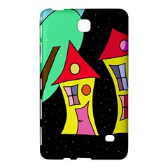 Two houses 2 Samsung Galaxy Tab 4 (7 ) Hardshell Case