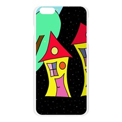 Two houses 2 Apple Seamless iPhone 6 Plus/6S Plus Case (Transparent)