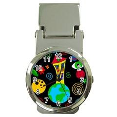 Playful universe Money Clip Watches