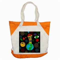 Playful universe Accent Tote Bag