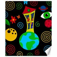 Playful universe Canvas 8  x 10