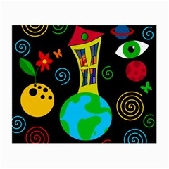 Playful universe Small Glasses Cloth (2-Side)