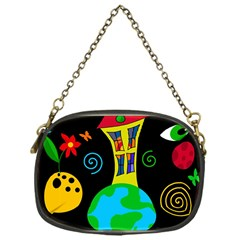 Playful universe Chain Purses (One Side)