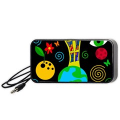 Playful universe Portable Speaker (Black)