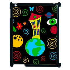 Playful universe Apple iPad 2 Case (Black)