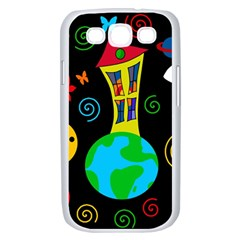Playful universe Samsung Galaxy S III Case (White)