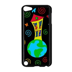Playful universe Apple iPod Touch 5 Case (Black)