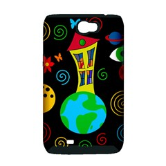Playful universe Samsung Galaxy Note 2 Hardshell Case (PC+Silicone)