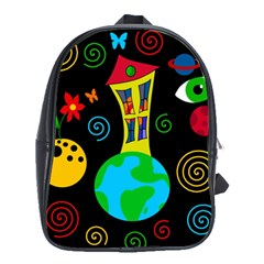 Playful universe School Bags (XL)