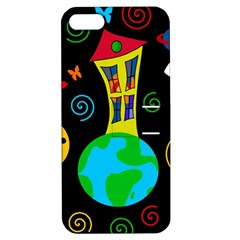 Playful universe Apple iPhone 5 Hardshell Case with Stand