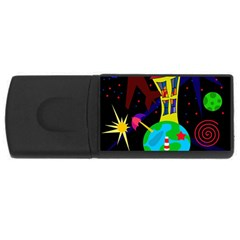 Colorful universe USB Flash Drive Rectangular (2 GB)